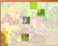 Sort My Tiles Pooh and Piglet online �llatos j�t�k